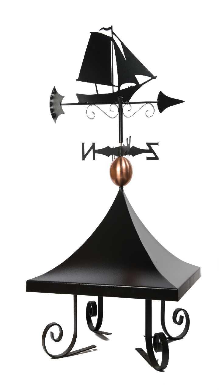 Schoorsteenkap gewalst model